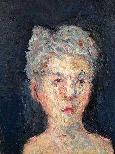 Oil on panel 24x18